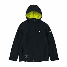 Quiksilver Mission Solid Jacket Snowboard - Black All Sizes
