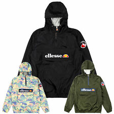 Ellesse giacca uomo Montgomery OH MONT a vento CASUAL S M L XL XXL 3XL NUOVO