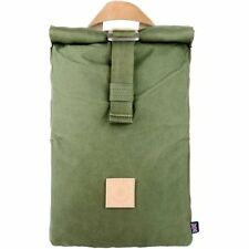 The Level Collective Winnats Roll Top Unisex Rucksack Hiking - Forest One Size