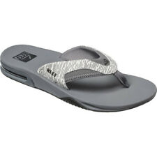 Reef Fanning Homme Chaussures Tongs - Grey Lines Toutes Tailles