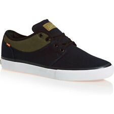 Globe Mahalo Homme Chaussures Chaussure - Black Twill Olive Toutes Tailles