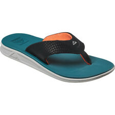 Reef Rover Homme Chaussures Tongs - Blue Grey Orange Toutes Tailles