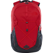 North Face Jester Unisexe Sac à Dos - Rage Red Asphalt Grey Une Taille