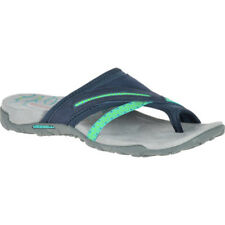 Merrell Terran Post Ii Femme Chaussures Tongs - Navy Toutes Tailles