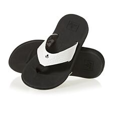 Reef Rover Femme Chaussures Tongs - Black White Toutes Tailles
