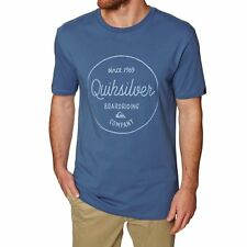 Quiksilver Classic Morning Slides Homme T-shirt à Manche Courte - Bright Cobalt