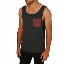 Volcom Pocket Heather Homme Maillot Bombardier - Black Toutes Tailles
