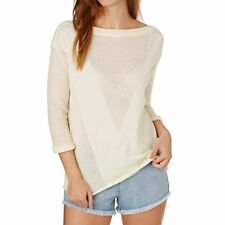 Rip Curl Moana Femme Pull Sweater - Egret Toutes Tailles