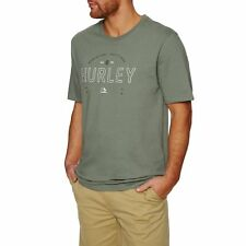 Hurley Layover Homme T-shirt à Manche Courte - Clay Green Toutes Tailles