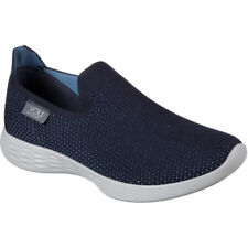 Skechers You Zen Femme Chaussures Chaussure - Navy Toutes Tailles