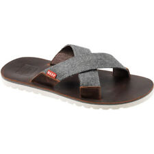 Reef Voyage Crossover Homme Chaussures Tongs - Brown Grey Toutes Tailles
