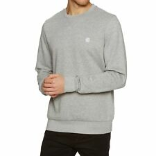 Element Cornell Classic Crew Homme Pull Sweater - Grey Heather Toutes Tailles