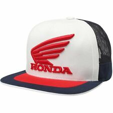 Fox Racing Honda Snapback Homme Couvre-chefs Casquette - Navy White Une Taille