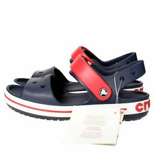 SANDALI CROCS 12856-485 CROCBAND SANDAL KIDS RELAXED FIT NAVY/RED MODA MARE