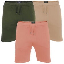 Mens Light Weight Cotton Rich Gym Lounge Shorts By Brave Soul
