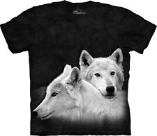 The Mountain Maglietta Unisex Adulto Siblings Wolves