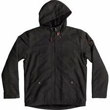 Quiksilver Wanna Homme Veste - Dark Grey Heather Scaly Toutes Tailles