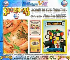 FIGURINE CARDS SGORBIONS A SCELTA SFUSE The Topps Company GARBAGE GANG 157/208