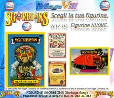 FIGURINE CARDS SGORBIONS A SCELTA SFUSE The Topps Company GARBAGE GANG 261/312