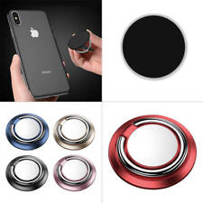360° Rotation Mobile Phone Finger Grip Magnetic Car Holder Stand Mount Ring