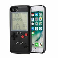 "3.5"" Handheld Mini Tetris Console Built-in 8 Classic Games Case Cover For iphone"