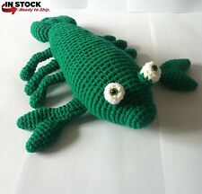 Toy Lobster, Crochet, Amigurumi Lobster, Handmade, Soft Toy, Stuffed Animal