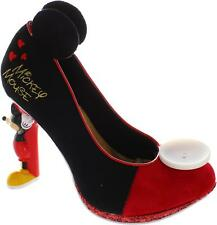 Irregular Choice Disney Mickey Mouse femmes rouge/noir escarpins talon haut