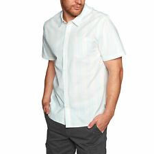 Swell Vacation Homme Chemise à Manche Courte - Natural Toutes Tailles