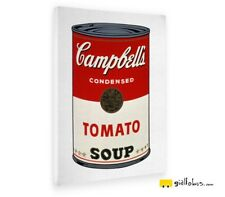 Giallobus - Quadro - Andy Warhol - Campbel's soup cans