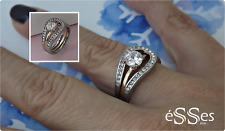 Anillo Mujer Acero Plateado/Rosa - Stainless Steel Womens Ring Silver/Rose Gold
