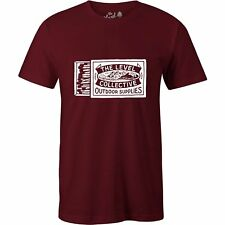 The Level Collective Matchbox Unisexe T-shirt à Manche Courte - Deep Red