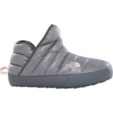North Face Thermoball Traction Bootie Femme Chaussures Pantoufles - Shiny Frost