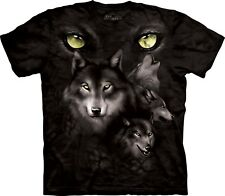 The Mountain Maglietta Moon Eyes Collage Wolf Adulto Unisex