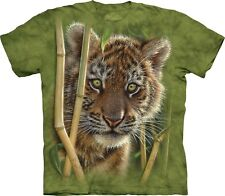 The Mountain Maglietta Baby Tiger Big Cat Bambino Unisex