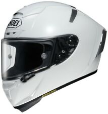SHOEI X-SPIRIT 3 COMPLETO Carrera casco de MOTO - Blanco