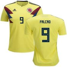 adidas 2018 World Cup Colombia Men's Home Jersey CW1526 w/ Falcao 9 1805
