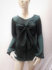 Amy Gee Emerald Green Bodysuit Top    UK 12 (44) & 14 (46)   £40   BNWT