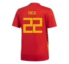 adidas 2018 World Cup Spain Men's Home Jersey CX5355 w/ Isco 22 1805
