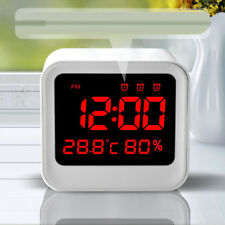 Reloj Despertador Digital Pantalla LED Multifuncional con Temperatura