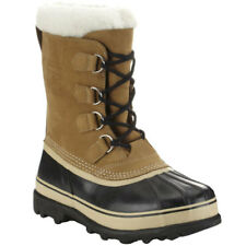 Sorel Caribou Faux Fur Mens Boots - Buff All Sizes