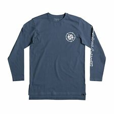Quiksilver Critical Dates T-shirt Long Sleeve - Real Teal All Sizes