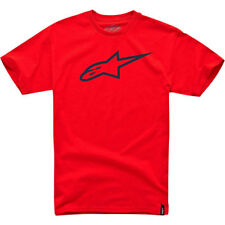 Alpine Stars Ageless Classic Homme T-shirt à Manche Courte - Red Black