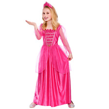 Childs Darling Princess Fancy Dress Costume Girls Pink Princess Outfit New