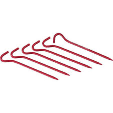 Msr Hook Stake Kit Unisexe Tente Piquet Pour - Red Une Taille