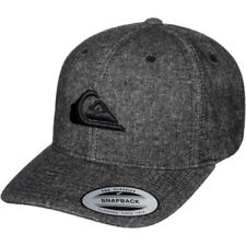 Quiksilver Decades Plus Homme Couvre-chefs Casquette - Anthracite Une Taille