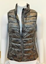 bnwt ladies Weatherproof 32 Degrees Packable Down quilted padded Vest/gilet