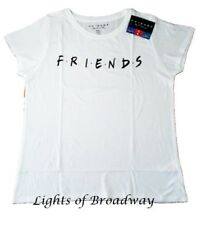 Primark Friends TV Series Official White T shirt Top Ladies Girls NEW BNWT