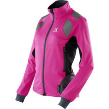 X-bionic Ski Touring Spherewind Light Womens Jacket Snowboard - Pink Black