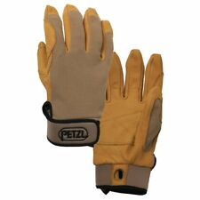 Petzl Cordex Mens Gloves - Tan Leather All Sizes