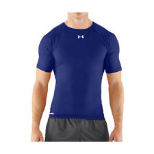 Under Armour Tactical Heatgear Crew Homme Seconde Peau - Sonic Royal